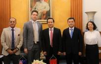 Lãnh đạo thành phố tiếp, làm việc với Phó Đại sứ New Zealand tại Việt Nam