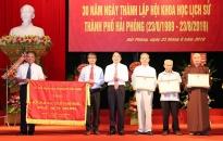 Kỷ niệm 30 năm thành lập Hội khoa học lịch sử Hải Phòng