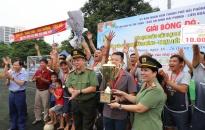 Chung kết Giải bóng đá vô địch các CLB thành phố Cúp Báo An ninh Hải Phòng – Nhựa Tiền Phong lần thứ 18 năm 2019:  CLB Quảng Bình – Thủy Nguyên lên ngôi vô địch