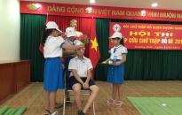Sôi nổi Hội thi Sơ cấp cứu chữ thập đỏ hè 2019