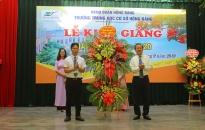 Trường THCS Hồng Bàng long trọng tổ chức lễ khai giảng năm học 2019-2020