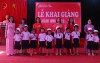 Trường Tiểu học Thị trấn An Dương (An Dương)  khai giảng năm học mới