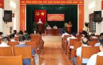Huyện An Lão:  Đối thoại giữa người đứng đầu cấp ủy, chính quyền với nhân dân