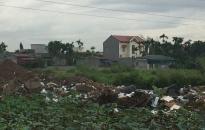 Xã Đồng Thái (An Dương):  Ngăn chặn đổ trộm rác thải tại tuyến đường giao thông đô thị