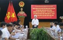 Huyện Tiên Lãng: Đề nghị thành phố bố trí vốn thực hiện các dự án cơ sở hạ tầng