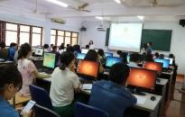 Khai giảng lớp bồi dưỡng chuẩn kỹ năng ứng dụng CNTT cơ bản cho cán bộ Công đoàn