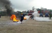 Quận Ngô Quyền:  Sôi nổi Hội thao kỹ thuật chữa cháy, CNCH cho lực lượng PCCC dân phòng