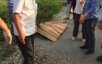 Một nạn nhân tử vong do tàu hỏa tại xã Lê Thiện (An Dương)