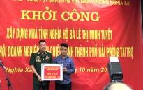 Phường Nghĩa Xá (quận Lê Chân): Khởi công xây dựng nhà Đại đoàn kết tặng hộ nghèo