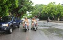 Quận Dương Kinh: Tăng cường công tác bảo đảm trật tự đường hè
