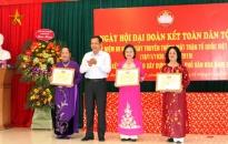 Tổ dân phố Ngô Quyền 1 (phường Máy Chai, Ngô Quyền):  96% số hộ đạt gia đình văn hóa