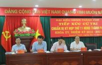 Đại biểu HĐND TP tiếp xúc cử tri tại quận Dương Kinh