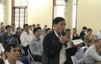 Tổ đại biểu HĐND thành phố số 4 tiếp xúc cử tri quận Lê Chân