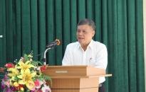 Phó Chủ tịch Thường trực UBND thành phố Nguyễn Xuân Bình tiếp xúc cử tri tại phường Minh Khai
