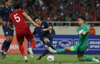 Thủ môn Văn Lâm cùng đồng đội giúp đội tuyển Việt Nam giữ vững ngôi đầu bảng