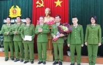 CATP khen thưởng Phòng Cảnh sát kinh tế