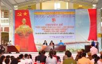 Hơn 1.000 học sinh trường THPT An Hải (An Dương) theo dõi phiên tòa giả định