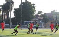 Giao hữu bóng đá Phòng An ninh đối ngoại và Công ty TNHH liên doanh Du lịch Quốc tế Hải Phòng