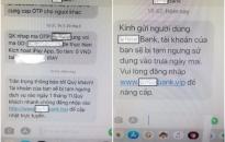 Cảnh báo thủ đoạn mới của tội phạm về giả mạo tin nhắn thương hiệu