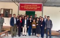 Khánh thành nhà tình nghĩa tặng hộ nghèo thị trấn Minh Đức