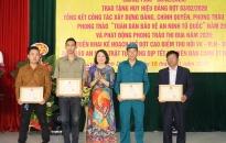 Phường Kênh Dương, (quận Lê Chân):  Phát động phong trào thi đua năm 2020 và  triển khai kế hoạch mở đợt cao điểm thu hồi VK – VLN – CCHT