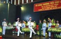 Tiễn biệt 3 cán bộ CAND hy sinh tại Đồng Tâm