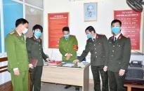 Kiểm tra đột xuất công tác phòng, chống dịch CoV-19 tại CAH An Dương, Vĩnh Bảo