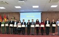 Quận Hồng Bàng: Tổng kết hoạt động Tết Nguyên đán Canh Tý và công tác tuyển quân năm 2020