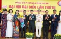 Đảng bộ phường Kênh Dương, quận Lê Chân:  Phấn đấu 80% chi bộ cơ sở đạt chi bộ trong sạch vững mạnh