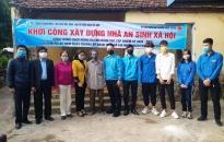 Quận đoàn Đồ Sơn: Khởi công xây dựng Nhà an sinh xã hội
