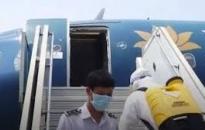 Danh sách các hành khách cùng chuyến bay với bệnh nhân số 34