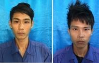 Công an huyện Kiến Thụy khởi tố 2 đối tượng cướp giật tài sản