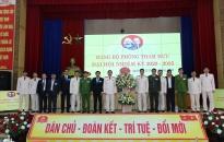 Tích cực chuẩn bị đại hội đảng bộ các cấp, tiến tới Đại hội Đảng bộ Công an tỉnh Quảng Ninh lần thứ XXIII
