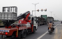 Đường World Bank chạy qua huyện An Dương: Cảnh báo những nguy cơ mất ATGT