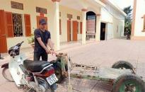 CAX Đặng Cương (An Dương): Bắt đối tượng trộm cắp xe tự chế