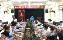 Phó Chủ tịch UBND thành phố Lê Khắc Nam làm việc với huyện Tiên Lãng về công tác phòng chống dịch COVID-19