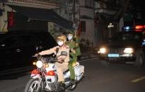 Công an quận Đồ Sơn: Nhắc nhở 20 người dân ra ngoài đường sau 22h
