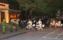 Công an thành phố: Đồng loạt ra quân tuần tra, kiểm soát từ 22h hôm trước đến 5h ngày hôm sau