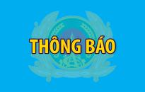 Thông báo về 2 cán bộ, chiến sỹ Công an thành phố Đà Nẵng hy sinh trong khi làm nhiệm vụ