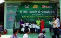 Công ty CP Nhựa Thiếu niên Tiền Phong: Quyết tâm khánh thành cây cầu thứ 60 nhân kỷ niệm 60 năm Ngày thành lập doanh nghiệp