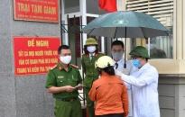 Trại tạm giam CATP: Duy trì công trình, phần việc 'Cổng cơ quan an toàn - văn hóa'