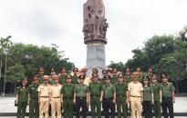 Công an huyện Tiên Lãng: Duy trì 4 tổ công tác tuần tra