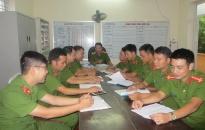 Công an huyện An Lão: Giao chỉ tiêu công tác cụ thể tới các đơn vị
