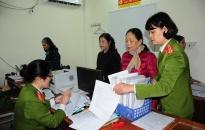 Công an quận Lê Chân: Bảo quản tốt trang thiết bị, phương tiện