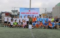 Chi đoàn Phòng PA02 CATP:  Giao hữu bóng đá gây quỹ từ thiện