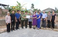 """Hội Phụ nữ CATP hỗ trợ xây dựng nhà """"Mái ấm tình thương"""" tặng hội viên"""