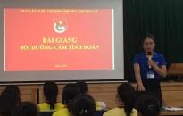 oàn phng Thng L (Hng Bàng): Bi dng nhn thc oàn cho 52 i viên tiêu biu Liên i Trng THCS Ng Gia T