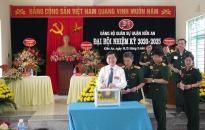 Đại hội Đảng bộ Quân sự quận Kiến An, nhiệm kỳ 2020-2025