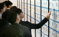 Số lao động thất nghiệp tại Hàn Quốc lên cao kỷ lục
