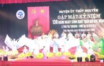 Huyện Thủy Nguyên: Trọng thể tổ chức Lễ kỷ niệm 130 năm Ngày sinh Chủ tịch Hồ Chí Minh